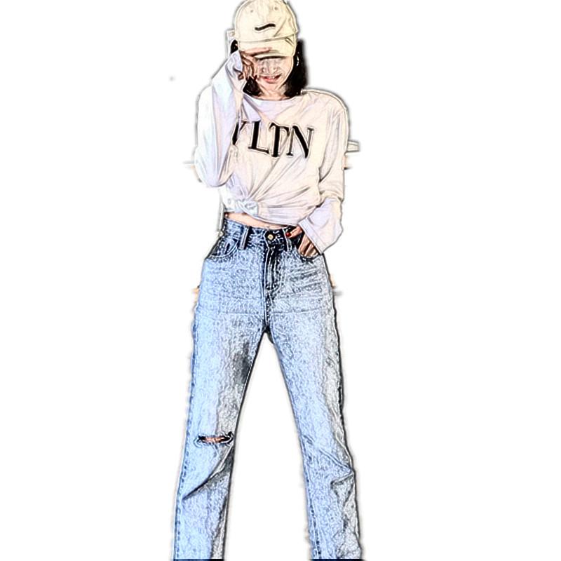 BIGKING 大金家好穿到哭的直筒牛仔裤 给你春天的清新颜色