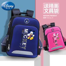Disney schoolbag primary school boy 1-3-4 grade 6-12 years old ridge girl backpack children's backpack