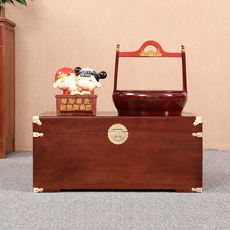 Naturally noodles, 樟木箱, calligraphy and painting, suitcase, wedding, eucalyptus furniture, solid wood storage box, factory direct sales