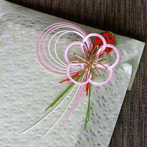 优美的梅花日本水引线水引结风吕敷装饰配件日本传统结缘手工艺品