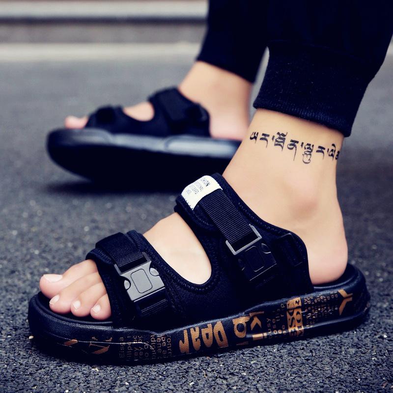 凉鞋男士凉鞋2017新款个性男款凉鞋男韩版男士沙滩鞋凉拖鞋男夏季