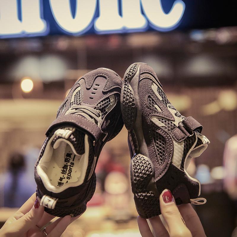儿童运动鞋男小童男鞋鞋子女运动鞋休闲休闲鞋女童布鞋子休闲小孩