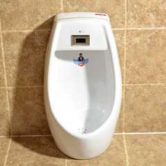 好亿家卫浴小便器红外智能感应挂便器立便器儿童小便斗陶瓷小便池