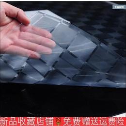 透明软桌面玻璃磨砂水晶板桌布pvc塑料餐桌垫长方形茶几胶皮包邮