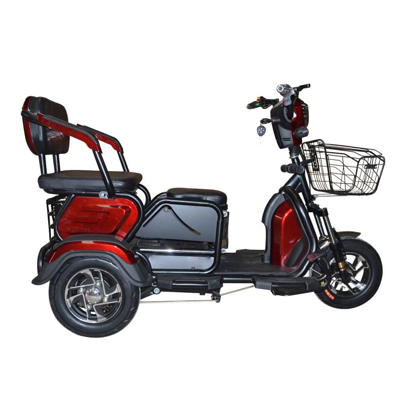 gangnam g66电动三轮车老年人残疾人电动三轮车可带小孩进电梯