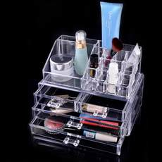 Makeup brush box acr...