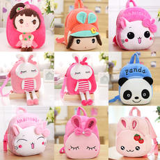 Cartoon cute kindergarten bag 1-3-5 year old child small backpack girl bag shoulder bag girl male baby