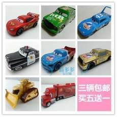 Three Genuine Mattel Racing Cars Mobility Alloy Car Toys Mai Kun Road tyrant Sheriff Boarding