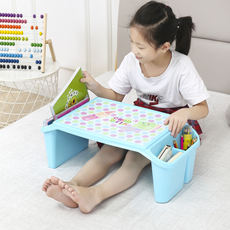 Early education table baby study table plastic toy table multi-function writing desk children's bed small desk eating table