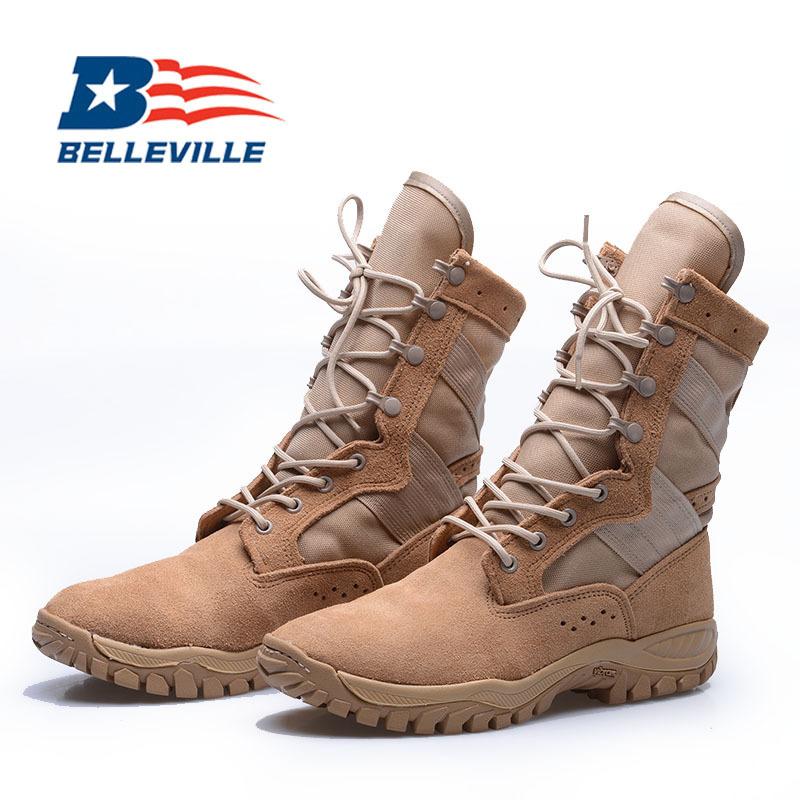 进口Belleville美国百利军迷靴ONE XERO 320超轻战术靴 超轻作训