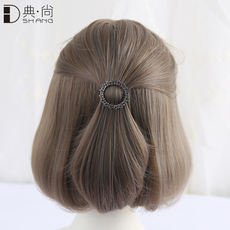 Hairpin female Korean hair accessories adult bow hairpin bangs clip side clip frog buckle word clip top clip headwear