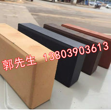 High-strength landscape sintered bricks Whole-body permeable bricks Square bricks anti-freeze and corrosion-resistant Water-permeable environmentally-friendly pavers