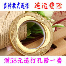 Roman ring nano ring thickening mute curtain ring Roman ring ring curtain accessories accessories punch ring ring