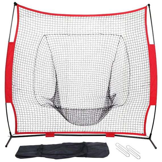 Baseball nets baseball and softball practice nets pitcher training nets netting netting 7 feet set net