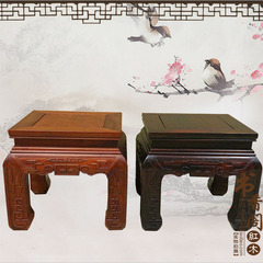 印尼黄檀方凳缅花小方凳红木换鞋凳酸枝木洗脚凳矮凳加厚加粗方凳