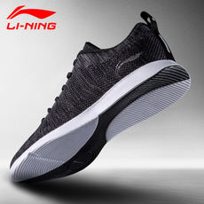Li Ning men's shoes sports shoes men's casual shoes 2018 new authentic summer mesh breathable one weaving running shoes