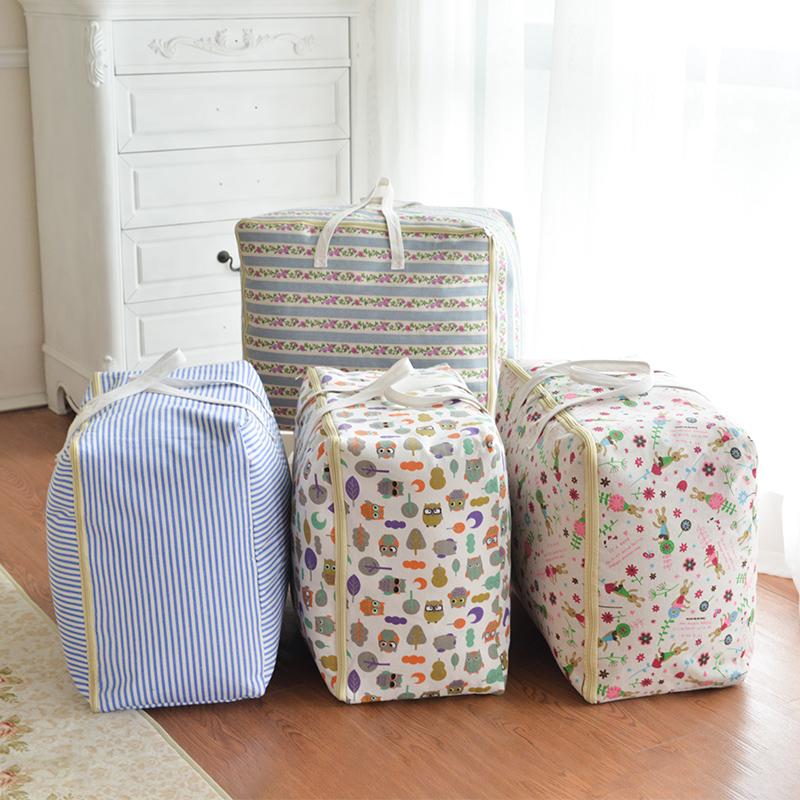 装被子袋整理衣物大袋子家用防水收棉被超大打包行李包装搬家衣服