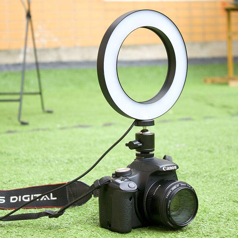 华固LED摄像灯婚庆摄影灯小型单反相机外拍灯拍照补光灯手持便携打光灯拍摄室内人像灯光常亮灯柔光灯照相灯
