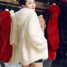 Fur imitation mink coat 2018 new winter water velvet mink coat women's whole long-term anti-season promotion
