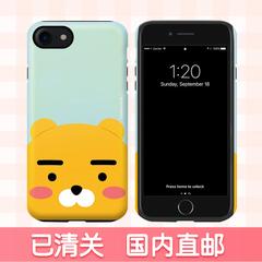 韩国正品代购kakao苹果6双层防摔手机壳iPhone7plus卡通可爱s女款