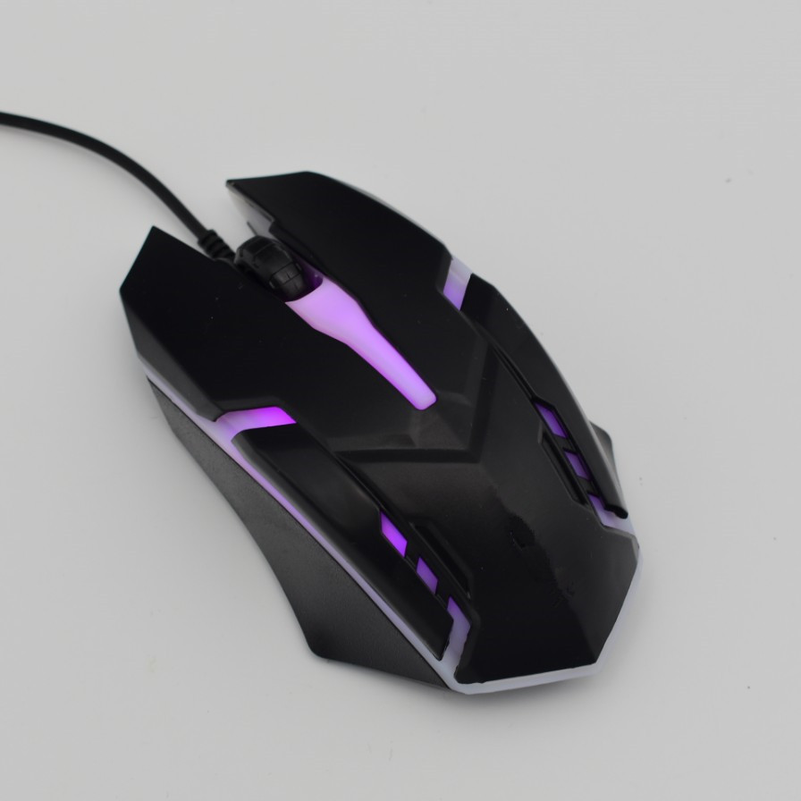 联想华硕电脑有线鼠标USB适用台式笔记本一体机办公家用游戏鼠标