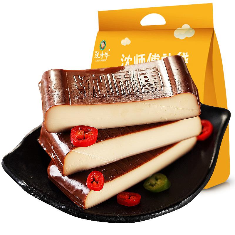 沈师傅鸡蛋干10袋四川特产豆腐干豆干小包装散装成都小吃零食100g