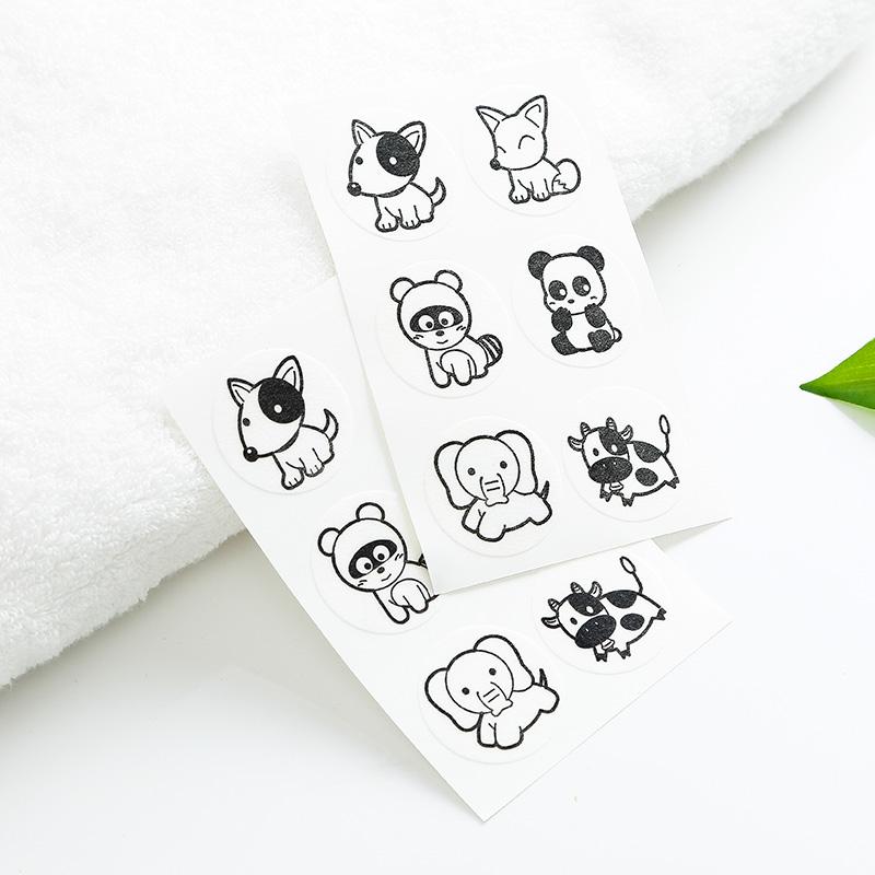 日本进口 婴儿驱蚊贴 宝宝植物精油防蚊贴 儿童卡通12贴