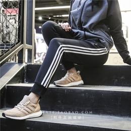 Adidas阿迪达斯女裤2018春季新款运动休闲针织长裤 CX5201 CX5198