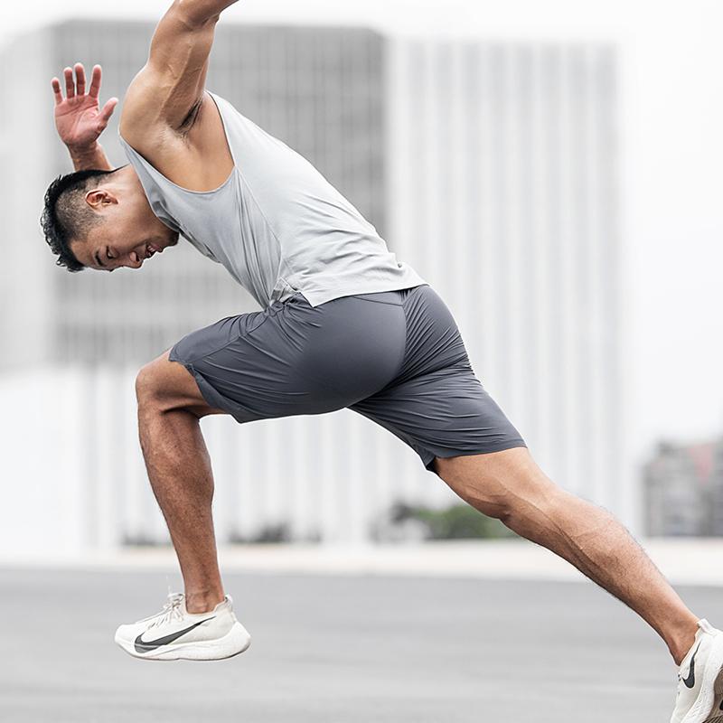 EVENSO Leverage运动短裤 弹力透气健身短裤 速干跑步下装薄款夏