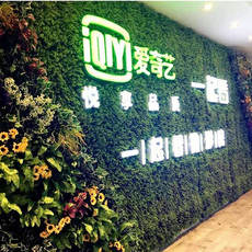 Simulation plant wall artificial turf green wall green plant background wall living room decoration turf green wall design