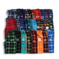 Q6-V142 Europe and the United States single spring men's cotton plaid home pants loose casual large size elastic waist comfortable sleeping pants