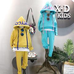 女童2岁半秋天3-4-5到6岁多小女孩穿的7女宝宝潮卫衣实拍春秋套装