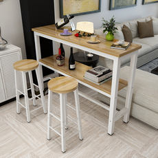 Simple wall home bar table double bar table small bar living room partition porch cabinet long table high table