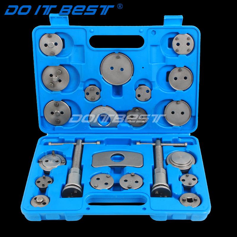 刹车分泵调整工具 22件碟式刹车片拆装工具 刹车分泵活塞回位工具