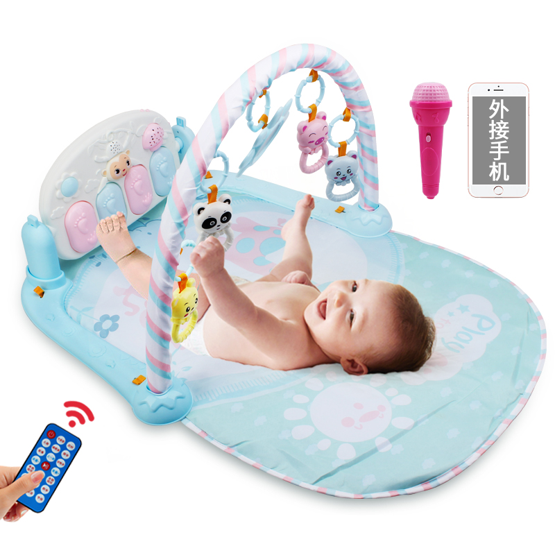 怀乐 婴儿益智健身架脚踏钢琴早教0-3-6-12个月新生宝宝音乐玩具