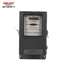 Delixi three-phase four-wire active energy meter mechanical electric meter DT862 330100A