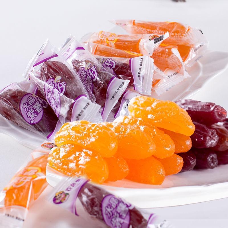 农色惠_水晶薯仔组合500g*2袋连城地瓜干紫薯干紫薯仔红薯干特产