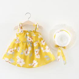 2018新款女童连衣裙夏季儿童吊带裙子0-1一3岁婴儿宝宝夏装公主裙