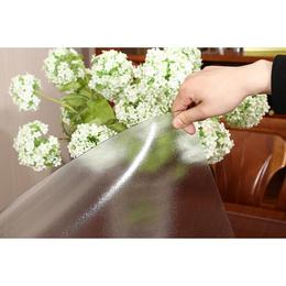 1.35米软玻璃圆桌垫透明PVC防水防烫桌布圆形餐垫台布水晶板加厚