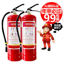 Car fire extinguisher private car 1/4KG small portable car portable dry powder household car annual inspection shop
