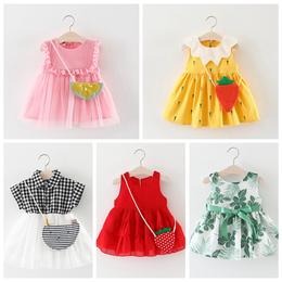 宝宝夏装女1-2-3岁0女童夏季公主裙婴幼儿连衣裙小女孩夏天裙子薄