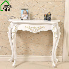 European-style porch table wall side table foyer porch cabinet porch table side corridors several decorative shelf tableside table