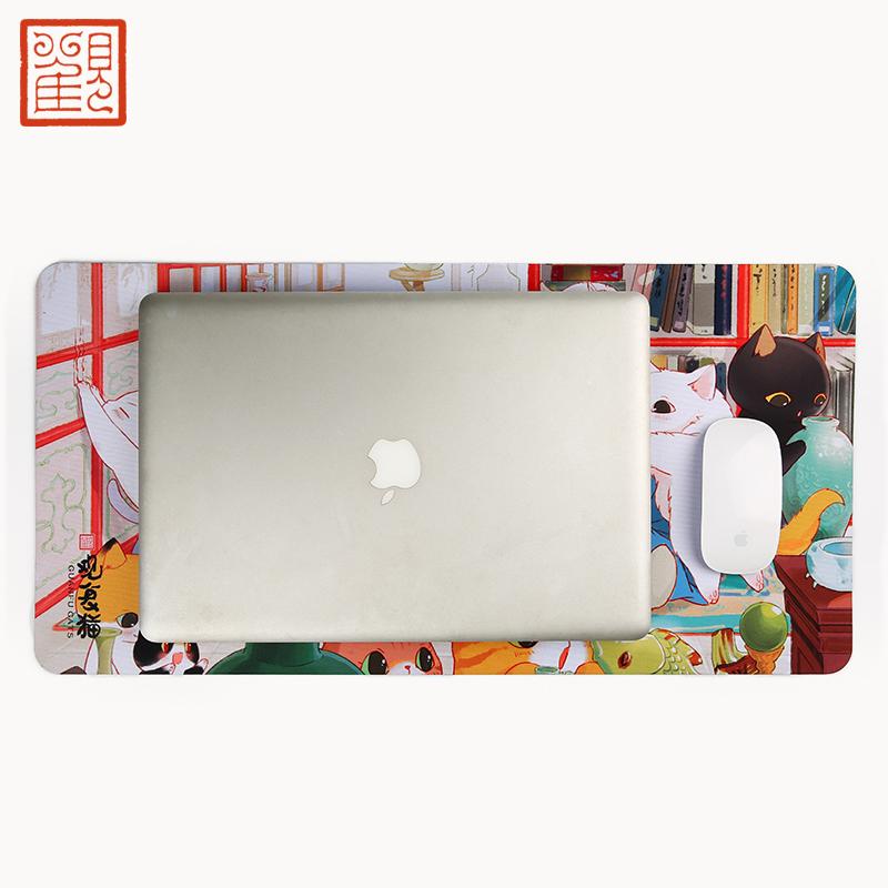 观复猫桌垫 观复博物馆文创礼品 餐垫 隔热防水 实用礼品 电脑垫