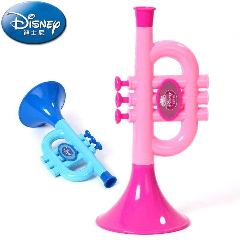 迪士尼喇叭玩具婴幼儿童宝宝仿真玩具小喇叭可吹儿童男女孩礼物
