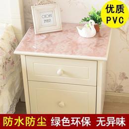 盘垫床头床边韩式冰箱加厚布艺垫防油台垫PVC餐桌胶桌布防污垫子