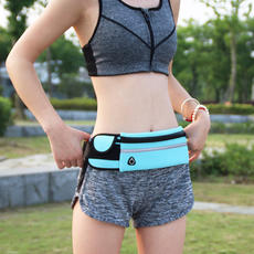 Sports pockets multi-function running mobile phone bag men and women fitness outdoor kettle bag invisible close-fitting casual small pockets