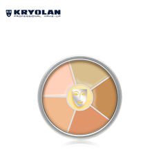 KRYOLAN Heroes Concealer Foundation Six Colors Combination #Correction Basic Colors Regina