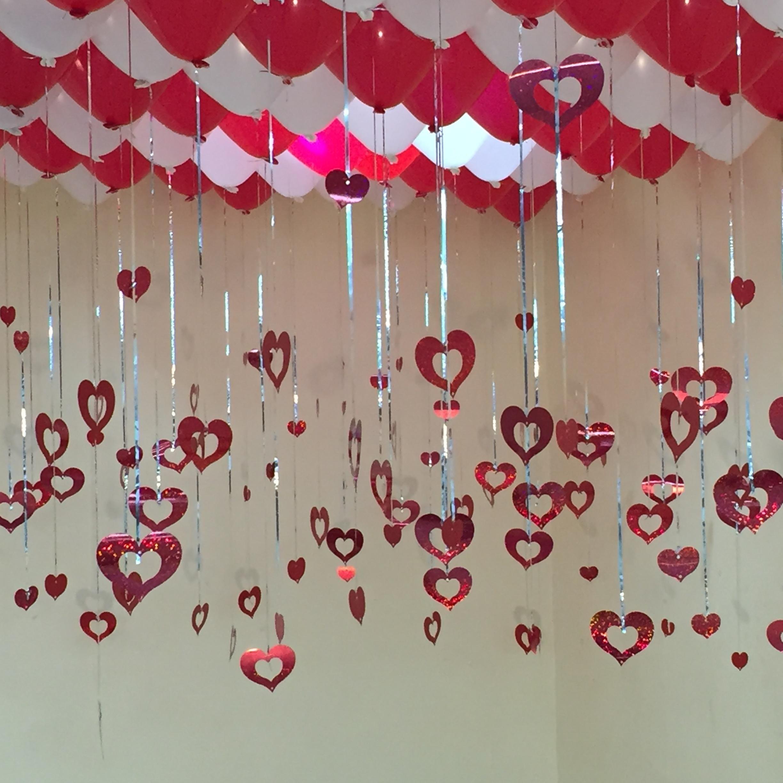 结婚房间装饰女方婚房布置用品花球创意婚礼浪漫卧室婚庆拉花新房图片
