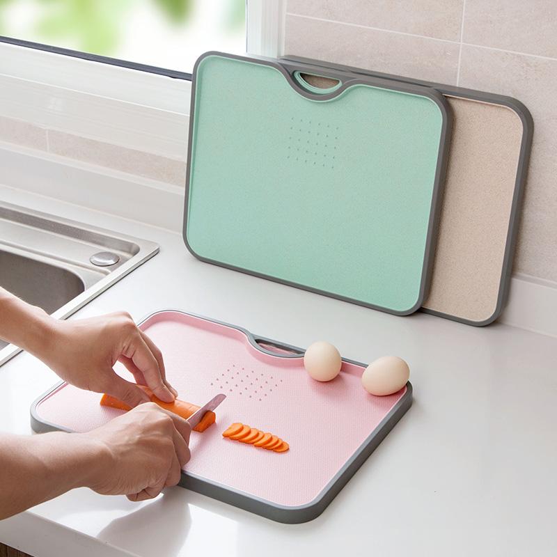 【自营】居家家防滑切菜板砧板小案板水果粘板家用刀板菜板