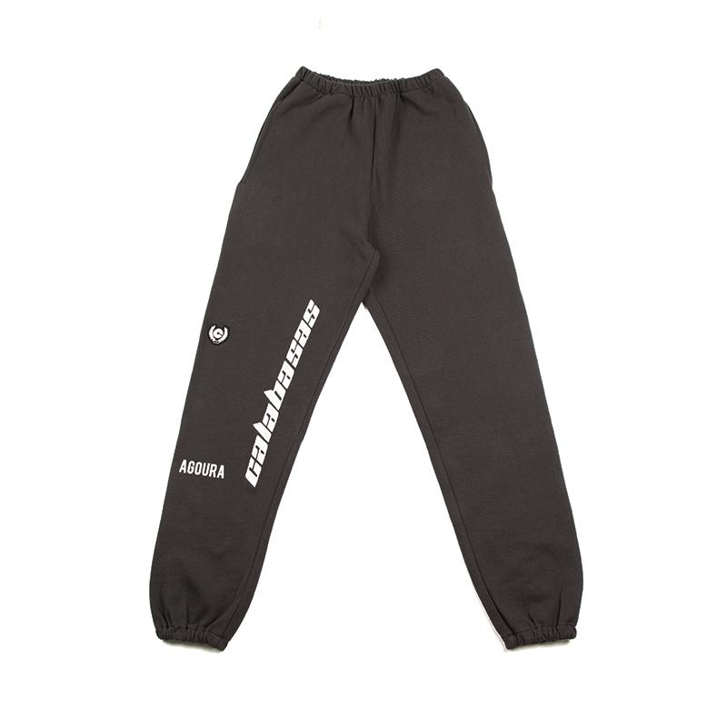 正确版本 Calabasas长裤 休闲裤 运动裤 kanye同款束脚裤 INS同款